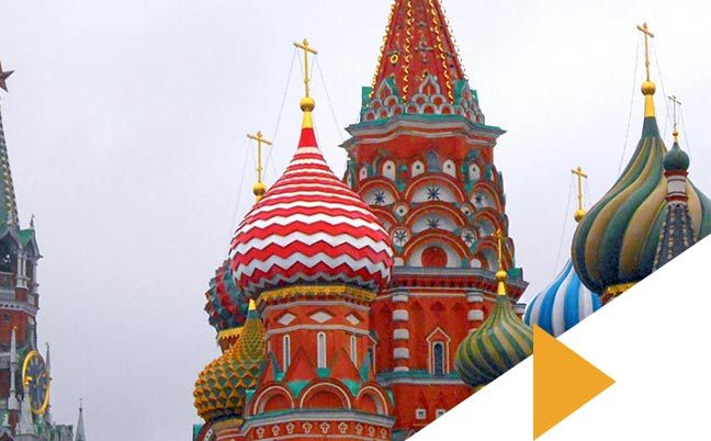 Place rouge en Russie