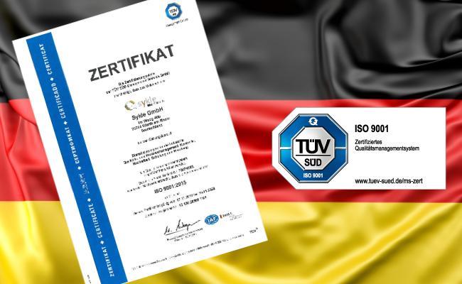 Sykle GmbH obtient la certification ISO 9001:2015_de